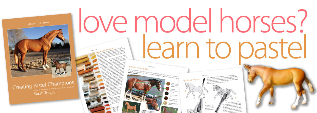 Creating Pastel Champions: Learn how to paint a model horse with pasetels