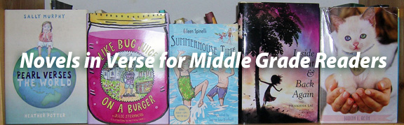Sarah Tregay's List of Novels In Verse for Middle Grade Readers