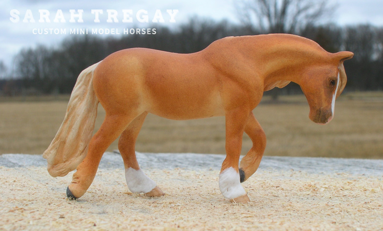 Buttercup, a Custom Breyer SM pony by Sarah Tregay