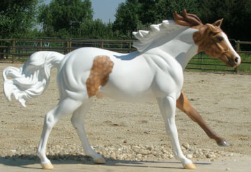 custom model horse by Sarah Tregay
