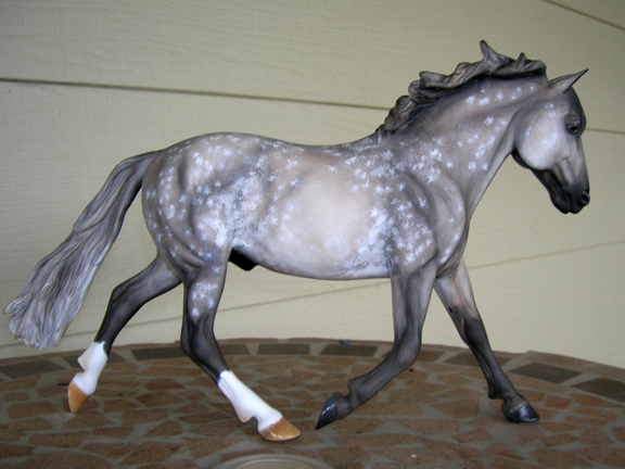 custom  model horse by Sarah Tregay (traditional)