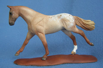appy custom model horse by Sarah Tregay
