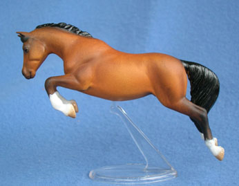 QH custom model horse by Sarah Tregay