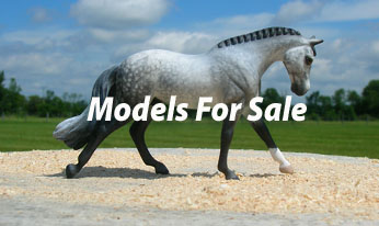CM mini Model horses for sale by Sarah Tregay