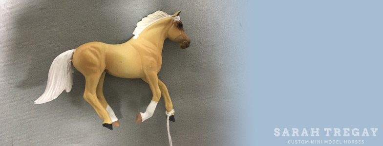 Breyer Stablemate Mold: Cantering Stock Horse (G3) by Jane Lunger, 2007,